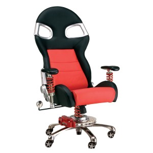 500|SPEEDLAB Pitstop Furniture LXE Office Chair Red FO8000R