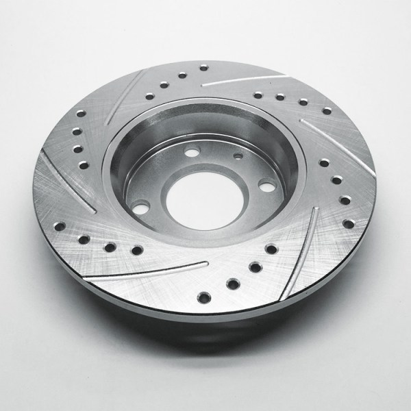 500|SPEEDLAB FIAT 500 Rear Brake Rotor-Drilled and Slotted 03