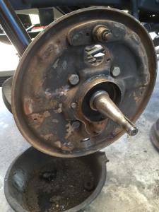 1962 Ford Truck brake install
