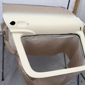 1962 Ford Unibody prepping for paint
