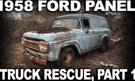 1958 Ford Panel Truck Rescue