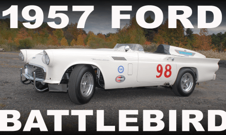 "1957 Ford Thunderbird #98 Factory Race Car ""The Battlebird"""