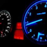 BMW speedometer custom back lighting