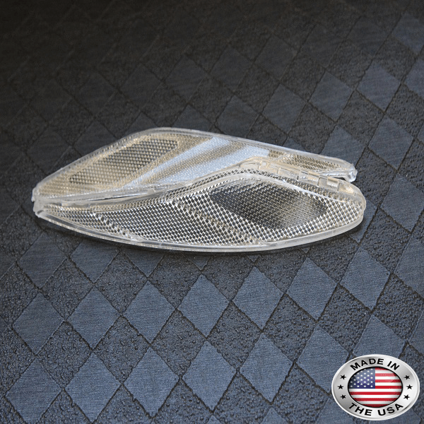 2013 Genesis Coupe Clear Headlight Reflectors