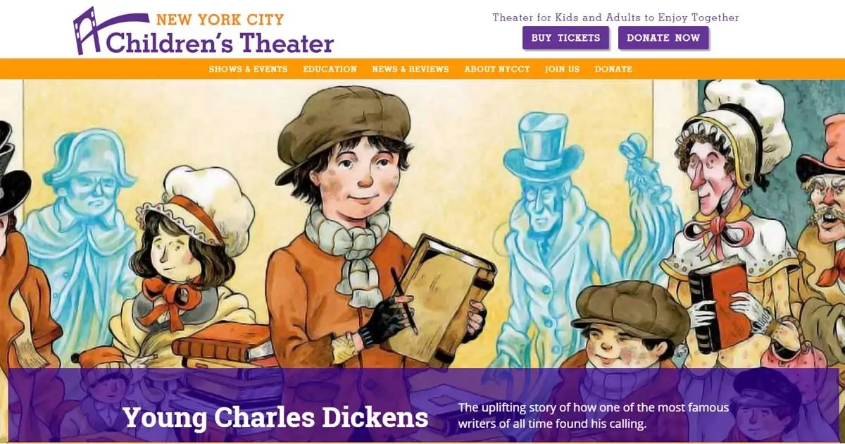 New York City Children's Theater Featured Image