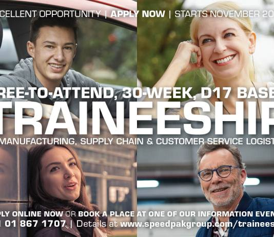Advertisements for Traineeship in Manufacturing, Supply Chain and Customer Service Logistics