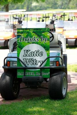 gold cart signage for golf outing south jersey speedpro