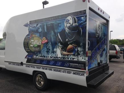 SpeedPro Imaging Midget Football Truck Decals