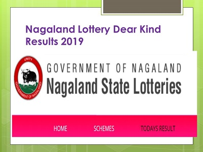 Nagaland Lottery Dear Kind Results 01/08/2019 (Available) Today