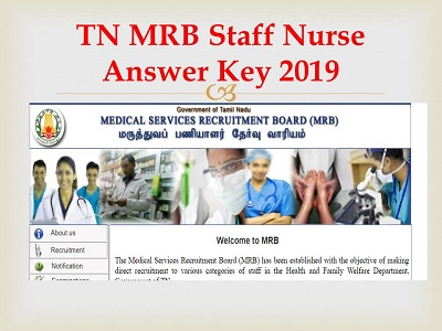 TN MRB Staff Nurse Results 2019-(Released) Tamil Nadu MRB Nurse