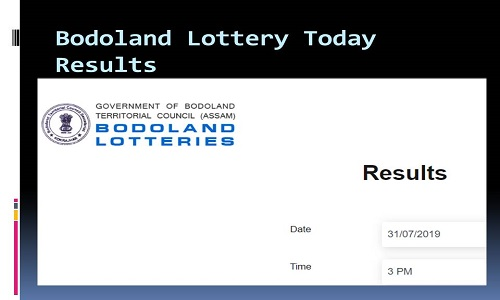 Bodoland Lottery Results 2019|3 PM & 8 PM (Download)|Thangam