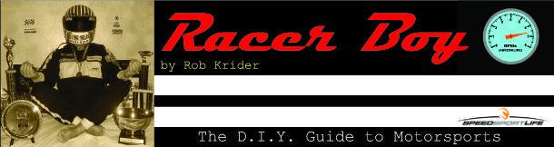 Racer Boy Banner
