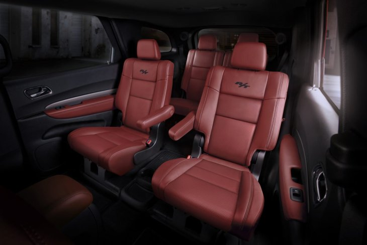 2016 Dodge Durango R/T with Radar Red Nappa leather seats