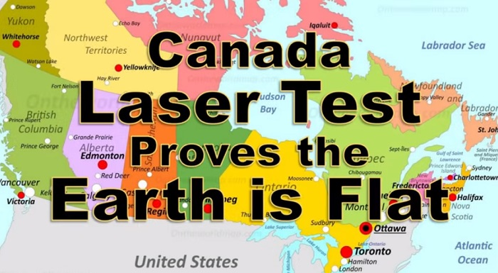 Does This Laser Test Prove the Earth is Flat? Where Is The Curvature?