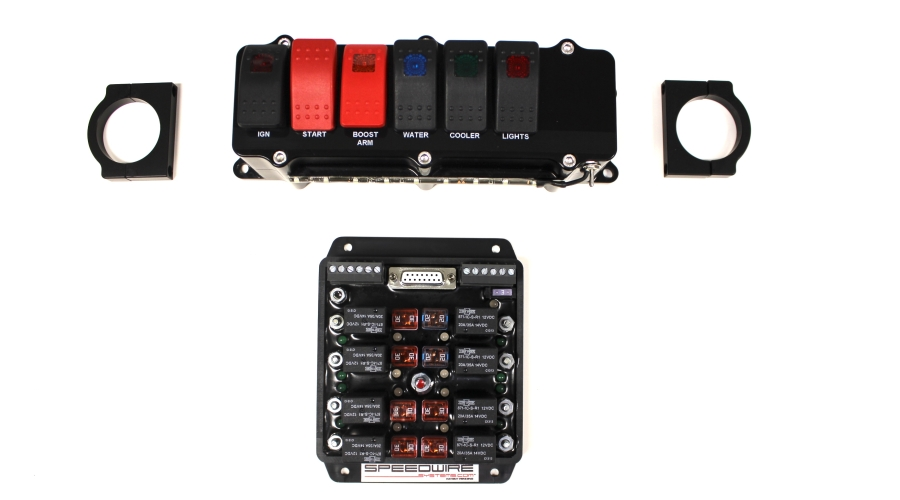 BILLET SWITCH PANEL 8 RELAY CONTROLLER