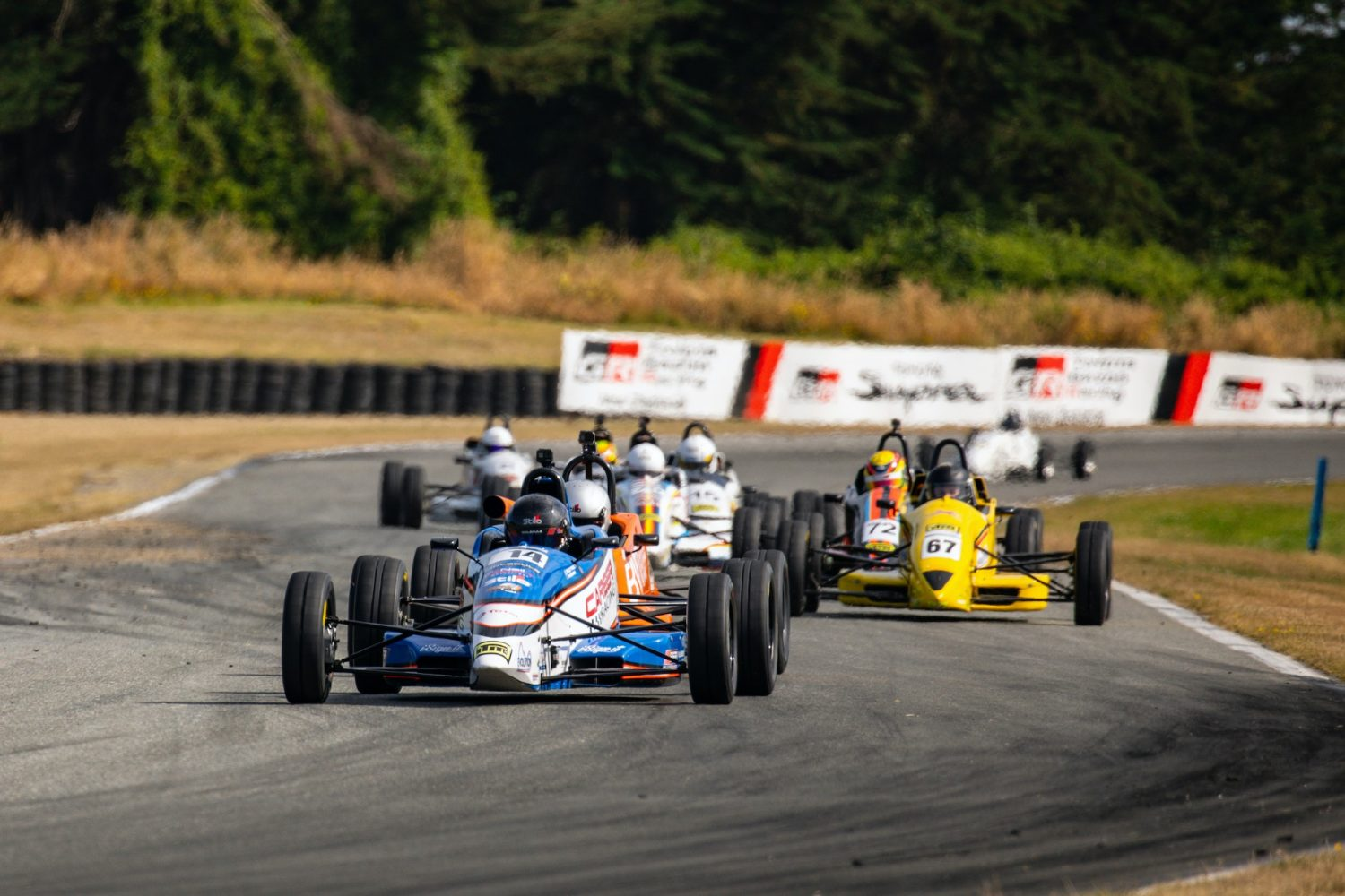 Frazer homing in on Formula Ford lead