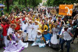 Canoafolk en el carnaval de las culturas 2017