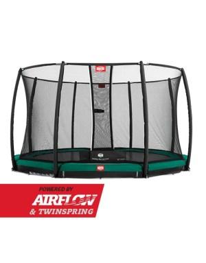 BERG Inground Champion Green 330 + Safety Net Deluxe