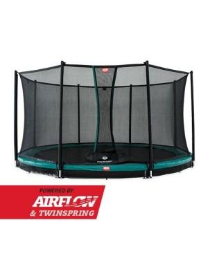 BERG Inground Champion Green 430 + Safety Net Comfort