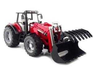 Bruder 2042 Tractor Massey Ferguson 7480 Frontloader