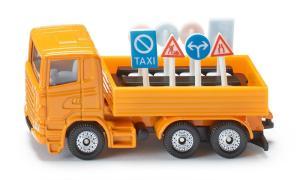 Siku 1322 Vrachtwagen met verkeersborden 1 :87