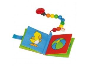 Babyboekje met clip