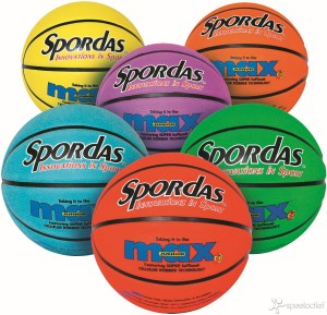 Basketbal Spordas Max Kleur - Maat 5