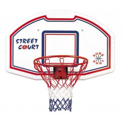 Basketbalbord Bronx met muursteun en Pro-Image Flex goal