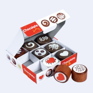 Chocolaatjes in doosje
