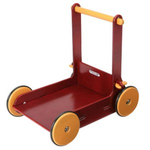 Duwkar - Loopwagen Moover rood