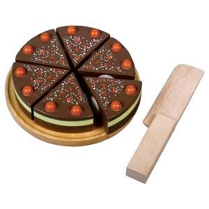 Chocoladetaart met klitteband