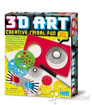 4M Crea Hobby- en Knutseldoos 3D Art Creative Spiral Fun