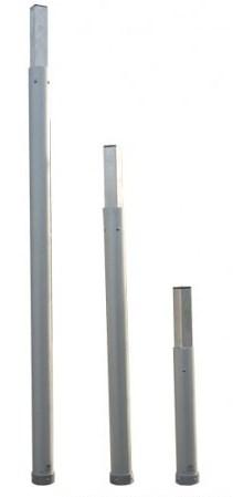 Aluminium verlengstuk 1,0 m.
