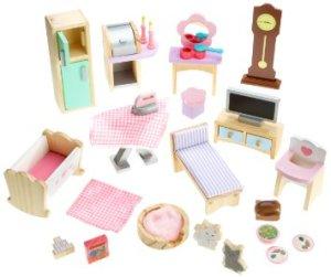 Meubelset (aanvullend) Kidkraft Barbiehuis
