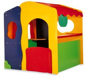 Houten speelhuis / Winkel / Poppenkast 3-in-1