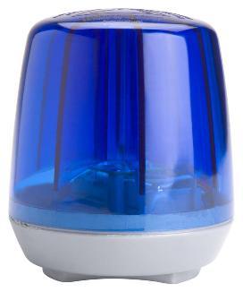 RollyFlashlight - Zwaailamp blauw