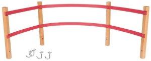 Rugleuning voor houten slee type Davos / Rodel