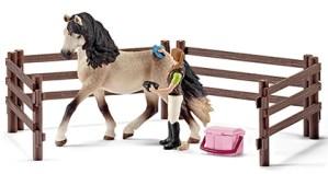 Andalusische paardenverzorgingsset - Schleich