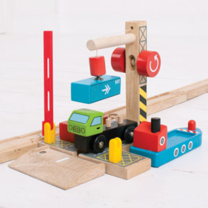 BigJigs BJT254 Container- overslag