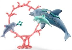 Dolfijnmoeder met kleintjes - Bayala - Schleich 41463