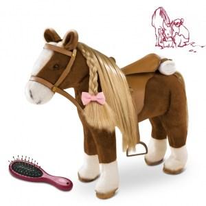 Pony Bruin Gotz schofthoogte-37-cm.