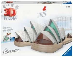 3D puzzel Sydney Operahouse - Ravensburger 216 stukjes