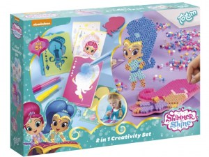 2-in1 Shimmer and Shine knutselset