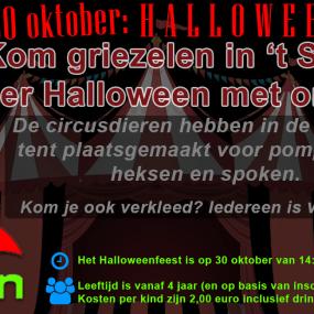 Halloween bij speeltuin 't Span