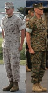 MARINE CORPS UNIFORM TERMINOLOGY – MCJROTC Pride Battalion