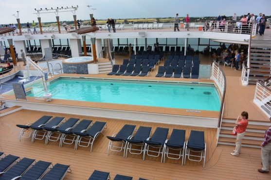 Celebrity Infinity Outdoor Pool
