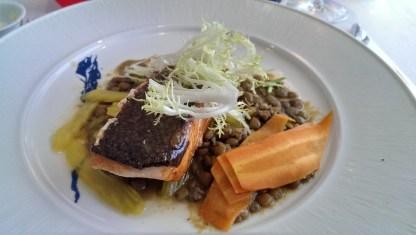 Lachs - Celebrity Infinity Blu Restaurant