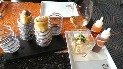 Spring Rolls - Celebrity Infinity Qsine Restaurant