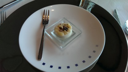 Amuse bouche - Celebrity Infinity SS United States Restaurant