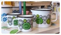 Onions Mugs and Jug
